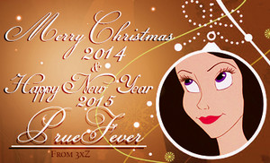 Merry Christmas 2014 & Happy New Year 2015 PrueFever!