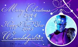 Merry Рождество 2014 & Happy New год 2015 Winxclubgirl202!