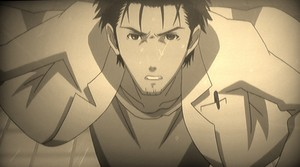 Okabe running against time