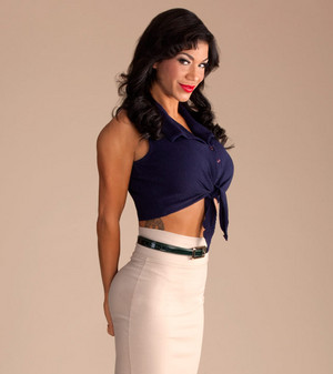 Salute to the Troops - Rosa Mendes