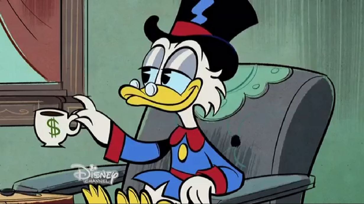 Scrooge in Mickey Mouse (2013) shorts