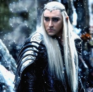 Thranduil in Snow