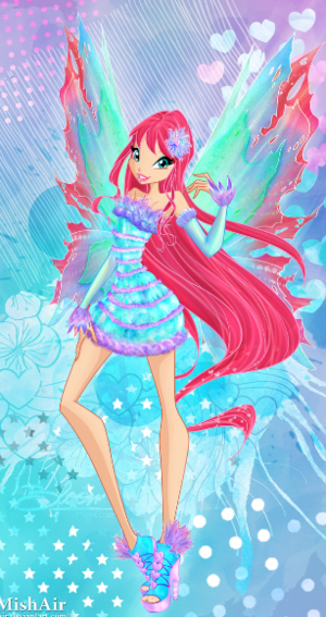 Winx Club Bloom 2D/3D Mythix