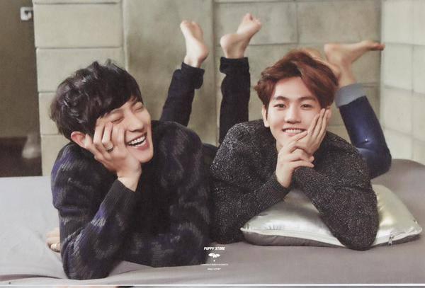Chanyeol And Baekhyun Are Cute Woodpecker 36 Foto 37949327 Fanpop Page 2