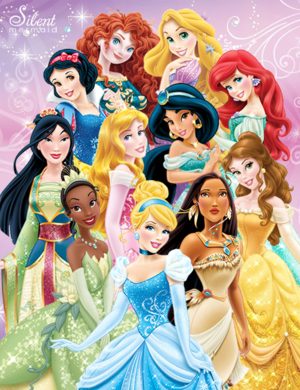 the 11 Disney princesses