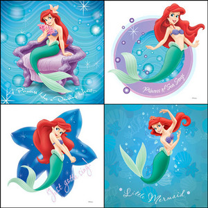 Ariel, The Little Mermaid Collage