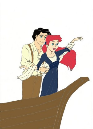Ariel and Eric Titanic