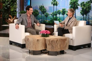 Benedict on the Ellen Degeneres Show