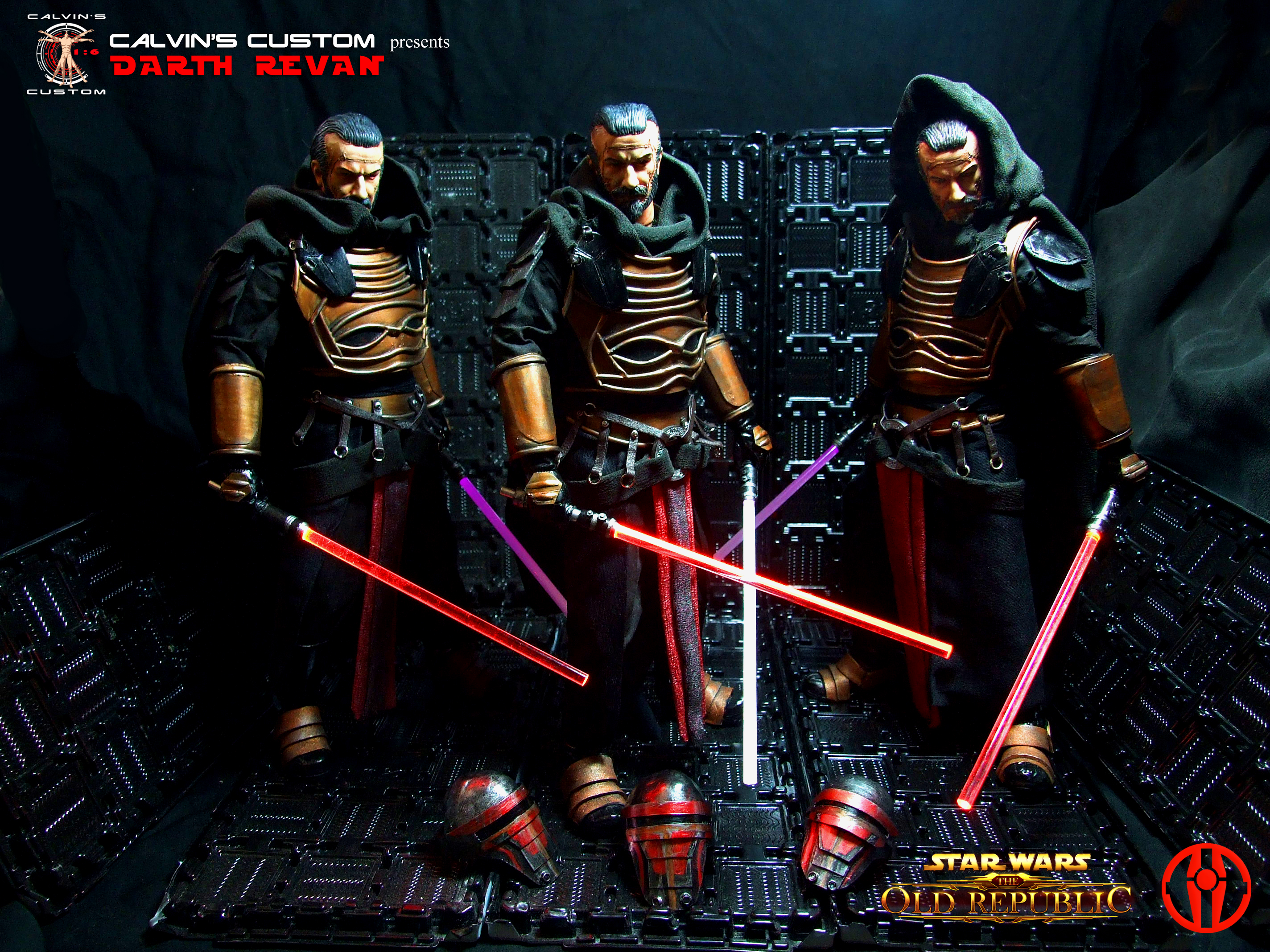 Calvin s Custom one sixth scale SWTOR Darth Revan Figures star wars 38038778 2848 2136