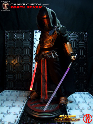 Calvin's Custom one sixth scale SWTOR Darth Revan Figures