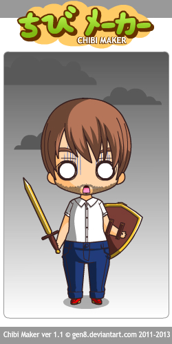 Chibi Windwakerguy430 (Scared)