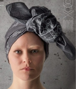 Effie Trinket in Mockingjay part 1