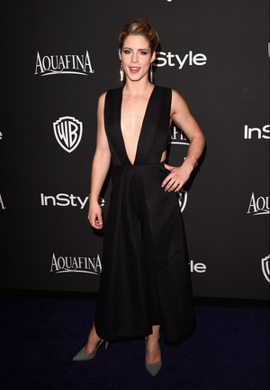 Emily at Golden Globes After Party