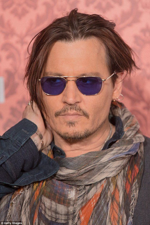 Johnny Depp new look 2015