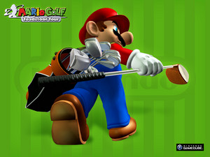 Mario Golf Toadstool Tour Wallpaper
