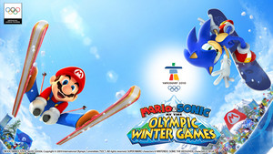 Mario and Sonic at the Olympic Winter Games achtergrond