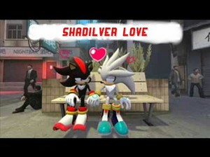 Shadow and Silver hold hands