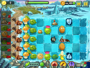 Third Screenshot for 'Plants vs. Zombies 2'