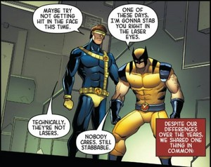 Wolverine vs. Cyclops