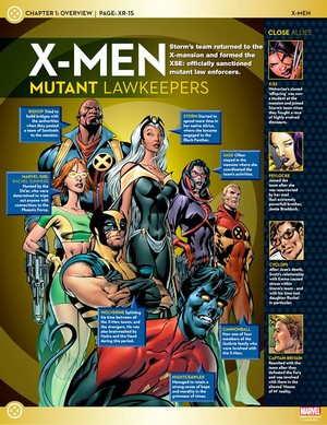 X-men Mutant Lawkeepers