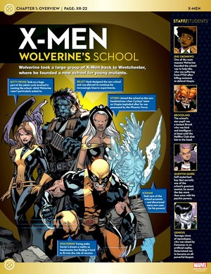 X-men Wolverine's School
