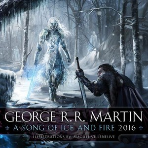 A Song Of Ice And Fire - 2016 Calendar - Cover
