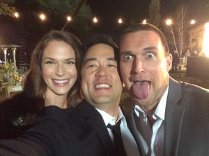 BTS pics of the Series Finale sejak Tim Kang