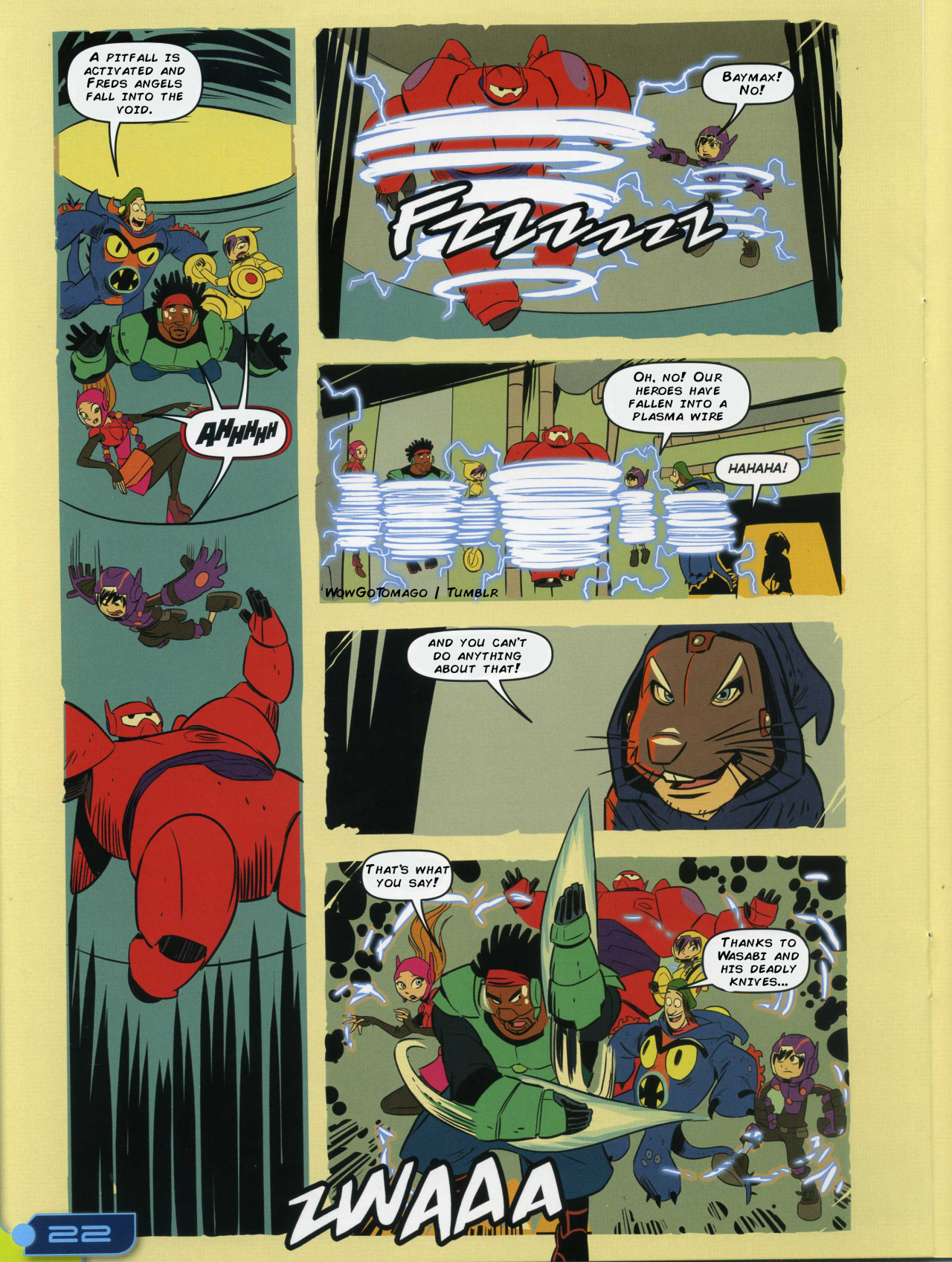 Big Hero Comic big hero 6 comic - adventurous imagination - big hero 6
