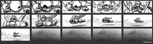 Big Hero 6 Storyboard - Hiro and Baymax