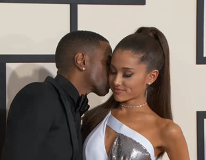 Big Sean and Ariana Grande 2015 Grammy Awards