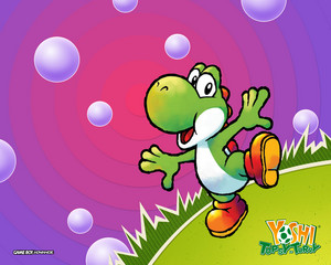 Bunch of Yoshi Wallpapers