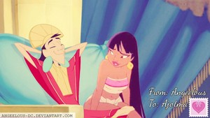 Chel/Kuzco Happy Valentine's Day! :3