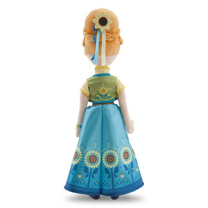 La Reine des Neiges Fever Anna Plush Doll 20""