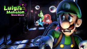 Luigi's Mansion Dark Moon 壁紙
