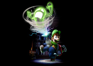 Luigi's Mansion Dark Moon fond d'écran