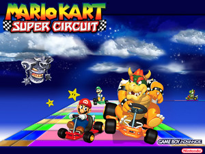 Mario Kart Super Circuit Wallpaper
