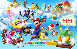 Mario Party Island Tour wallpaper