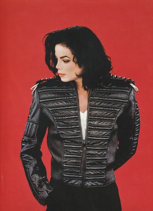 Michael Jackson - HQ Scan - Dangerous Era Photoshoot