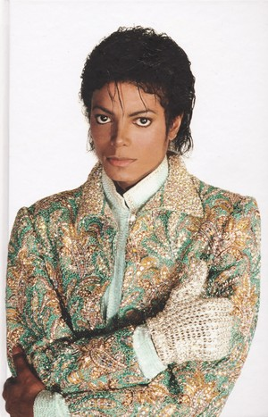 Michael Jackson - HQ Scan - Glen Wexler Photosession'84