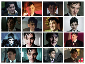 Oswald Cobblepot collage
