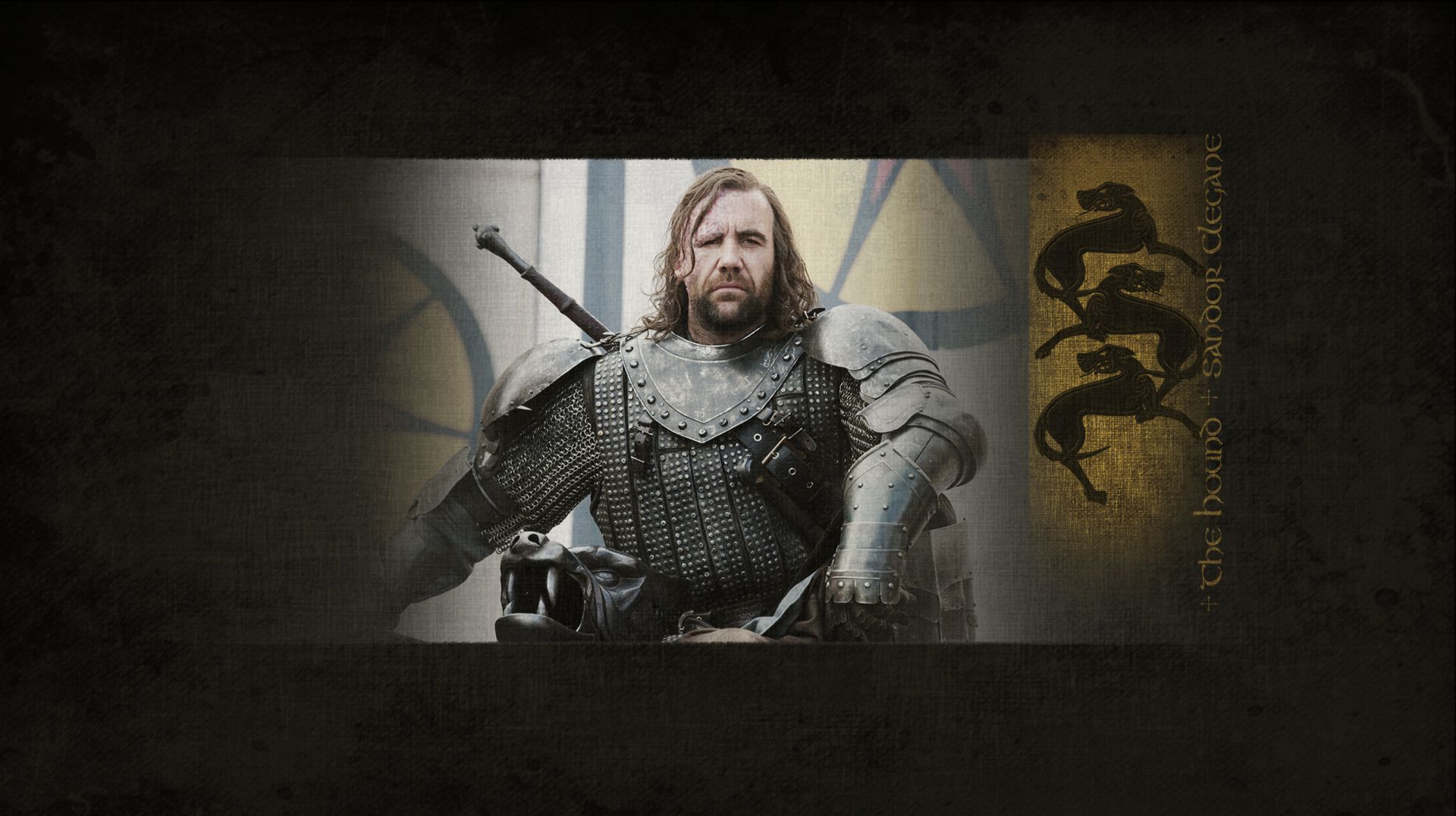 The Hound Sandor Clegane Wallpaper 1920x1080 Game Of Thrones