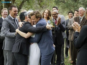 The Mentalist - Episode 7.13 - White Orchids (Series Finale) - First Look Wedding 사진