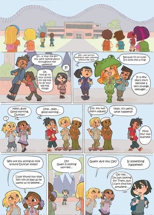 Total Drama Kids Comic Page 31