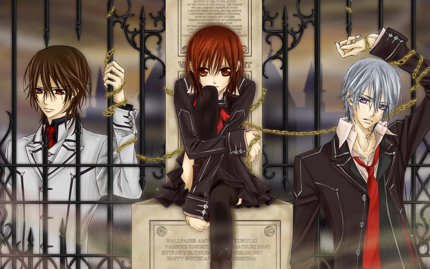 All Vampire Animes vampire knight wallpaper - vampire anime wallpaper (38197732