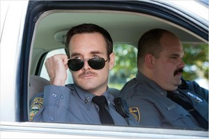 Will Forte as Sgt. Bressman in 'The Watch'