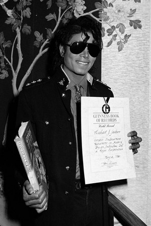michael jackson guinness world record certificate