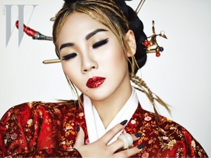 CL for W Magazine