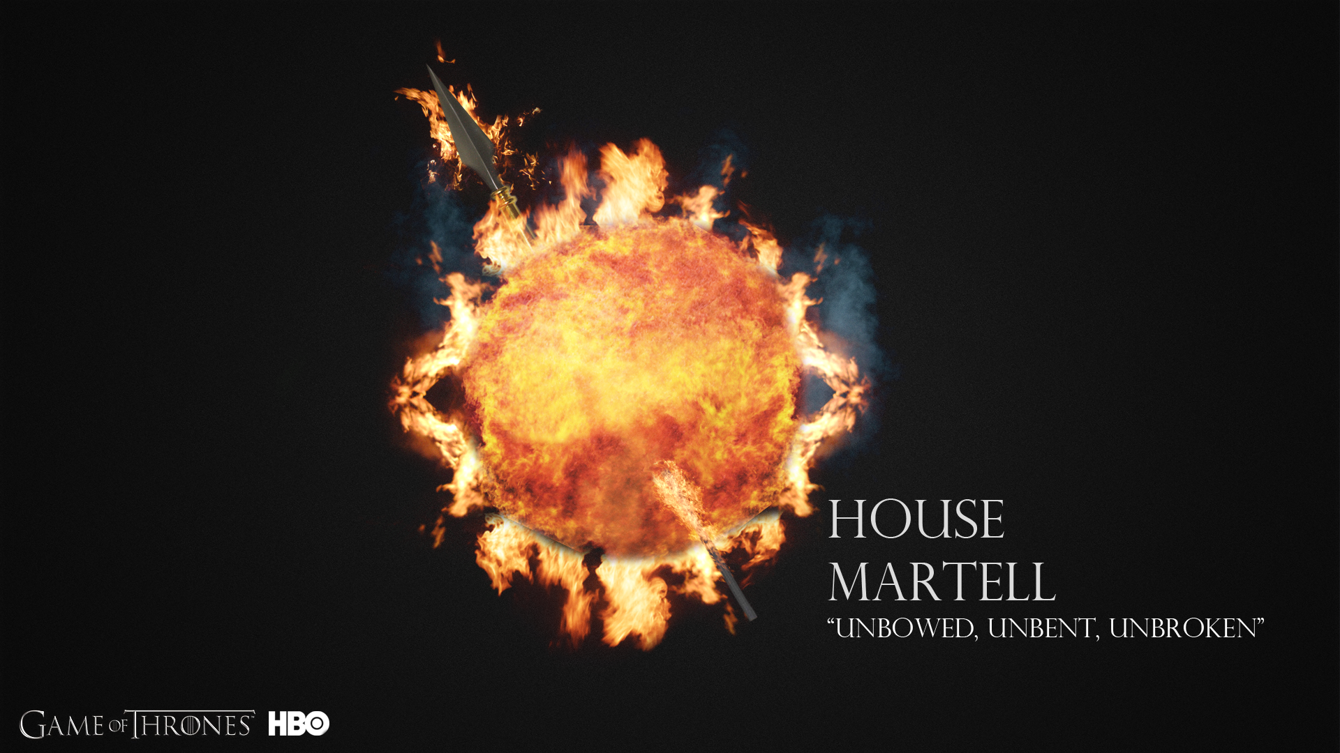 House Martell Game Of Thrones Wallpaper 38239375 Fanpop