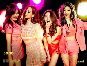 Miss A 'Colors'