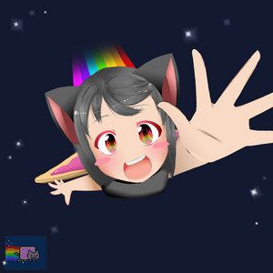 Nyan cat anime~